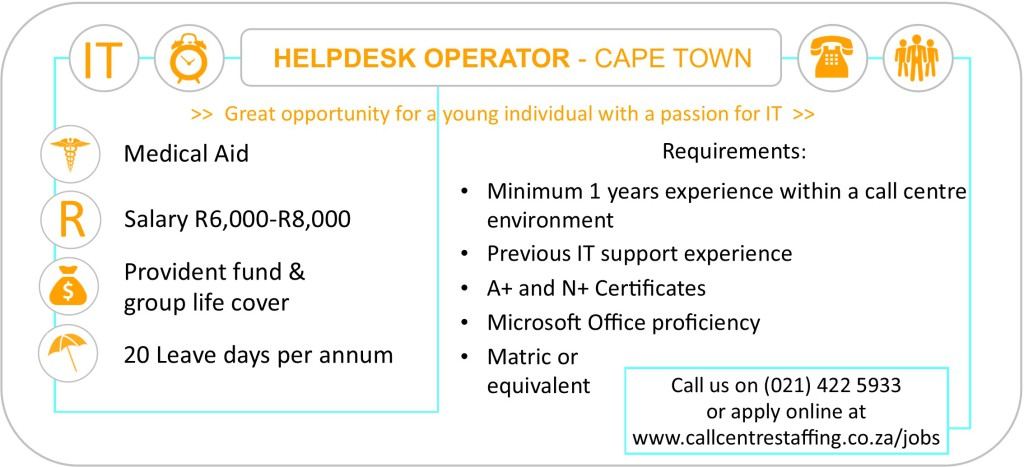 Helpdesk-Operator-cape-town-jobs-call-centre