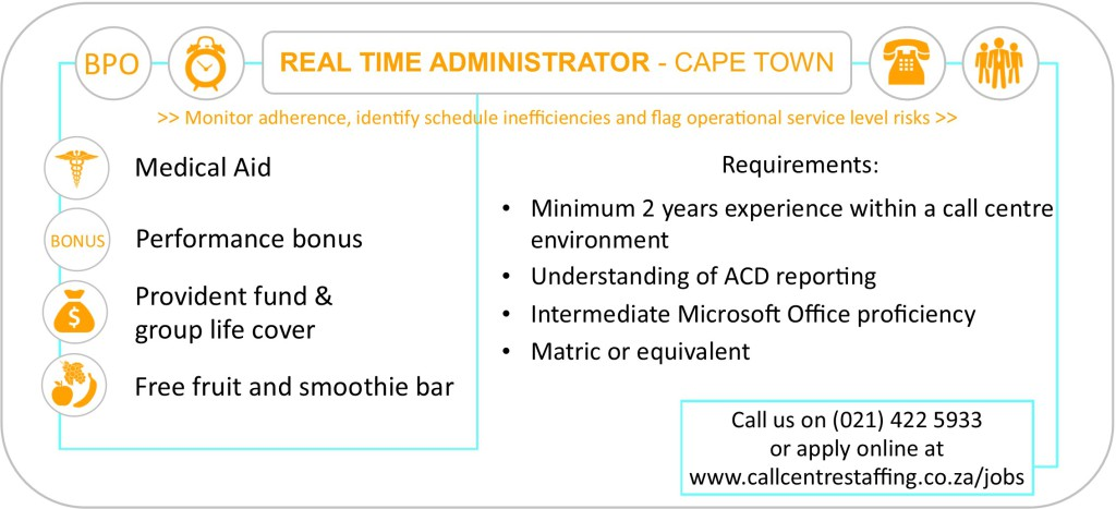 Real-Time-Administrator-jobs-cape-town