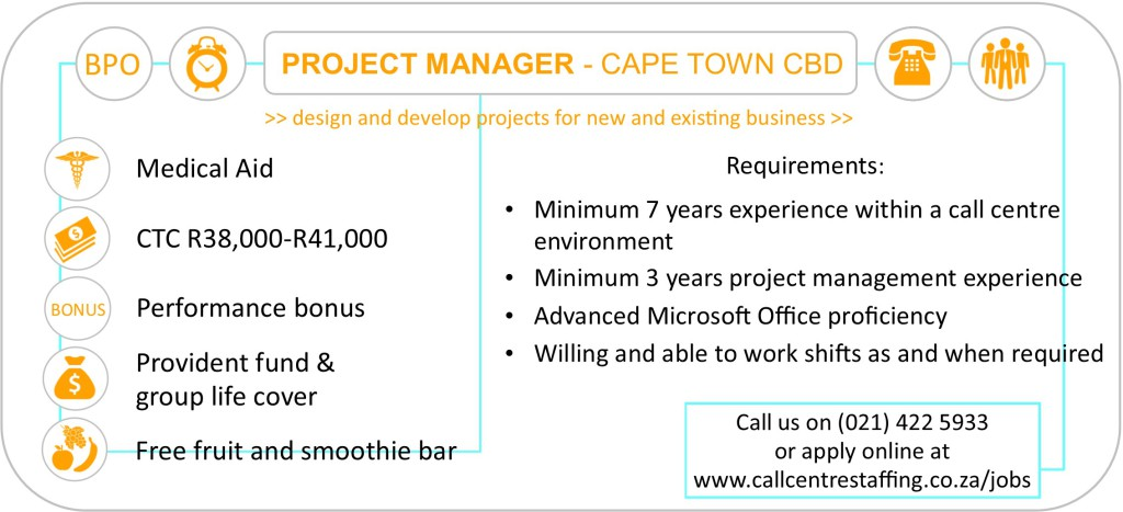 Project Manager Cape Town