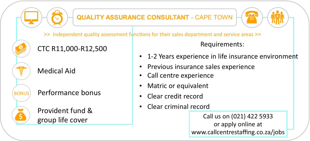 Quality Assurance Consultant Cape Town